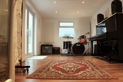 Live room at NBR